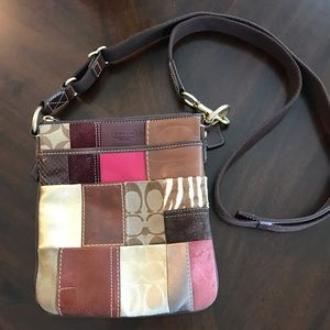 Coach Patchwork Crossbody Swing  Pack 10439